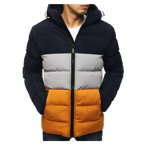 Dstreet Trendy granátová zimní bunda