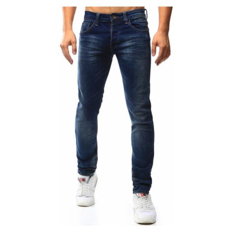 Buďchlap Jednoduché pánské džínové kalhoty