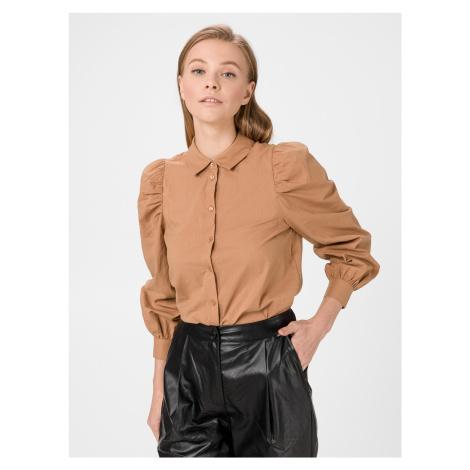 Miriam Košile Vero Moda Hnědá
