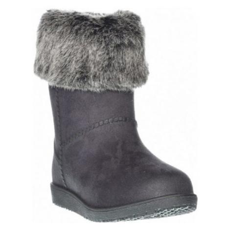Junior League BONNIE černá - Dětská zimní obuv