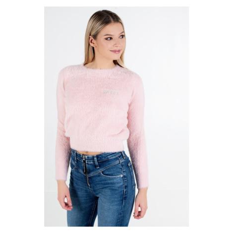 Guess GUESS dámský světle růžový svetr ROSMARY