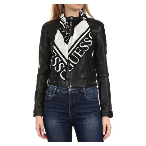Guess dámská černá koženková bunda