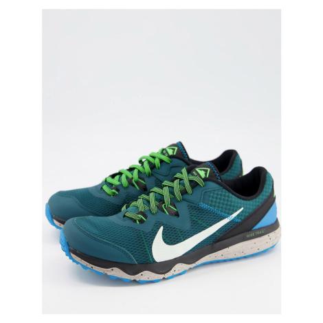 Nike Running Juniper Trail trainers in teal-Green