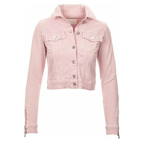 Guess dámská džínová bunda růžová