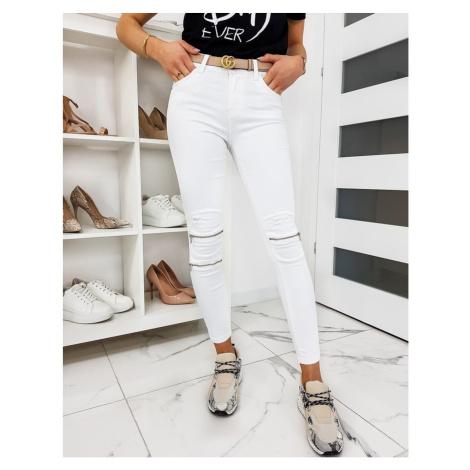 Women's white Skinny Fit jeans UY0313 DStreet