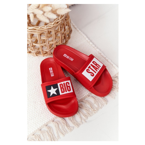 Children's Sliders Big Star DD374153 Red