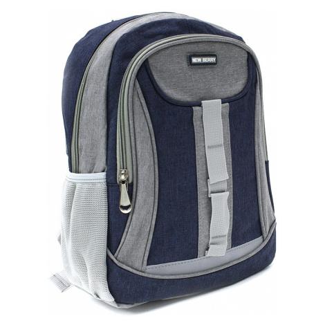 Tmavě modrý dětský sportovní batoh Beckham New Berry
