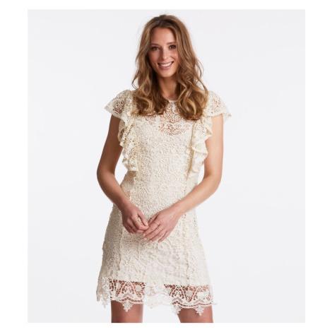 Šaty Odd Molly Bright Side Dress - Bílá