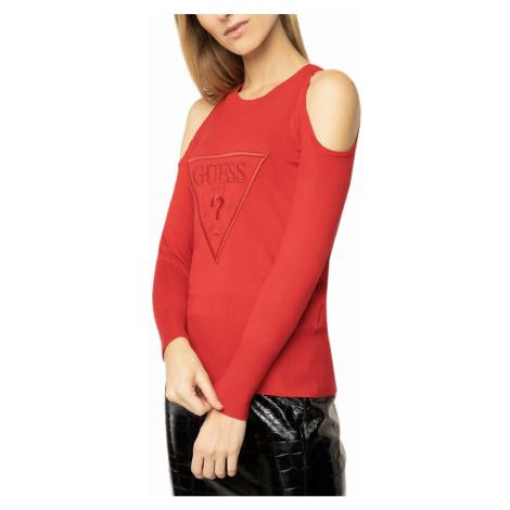 Červený svetr - GUESS