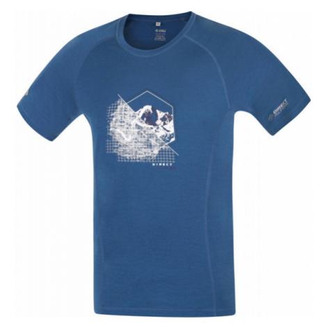Pánské tričko Direct Alpine Furry petrol (spot)