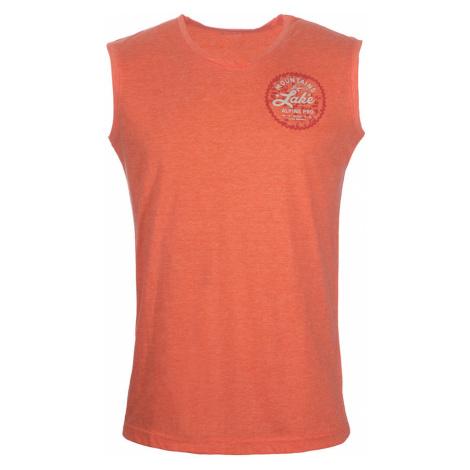 ALPINE PRO HOUDIN Pánské tílko MTSN372339 tmavě oranžová
