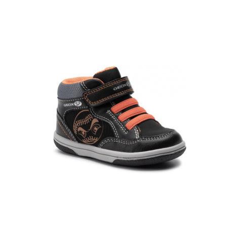 Geox Kotníková obuv B Flick B. A B9437A 0MEAF C0038 M Černá