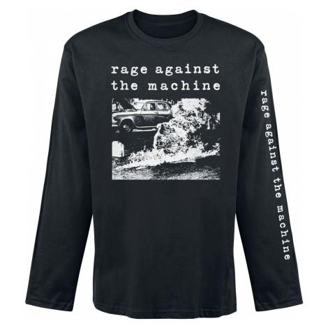 Rage Against The Machine Self Immolation Tričko s dlouhým rukávem černá