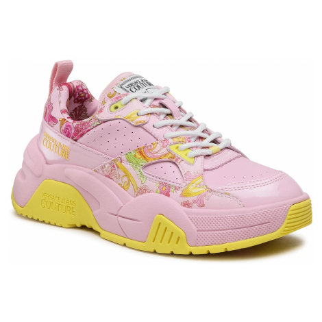 VERSACE JEANS COUTURE Fire 1 Pink tenisky
