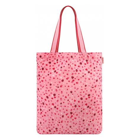 Cath Kidston Nákupní taška růžová / červená / bílá / pink
