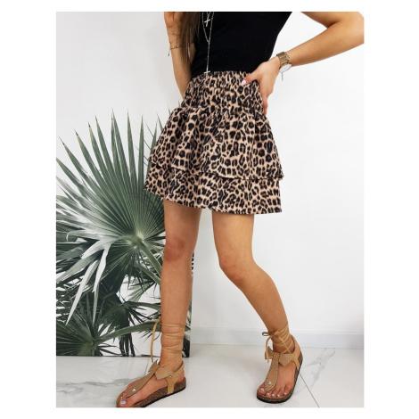 TIGER leopard skirt CY0268 DStreet