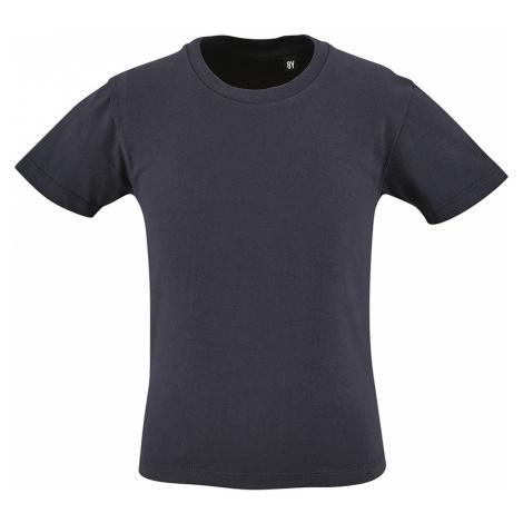 SOLS Dětské triko - organická bavlna MILO KIDS 02078319 Námořní modrá SOL'S