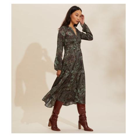 Šaty Odd Molly Amélie Long Dress - Různobarevná