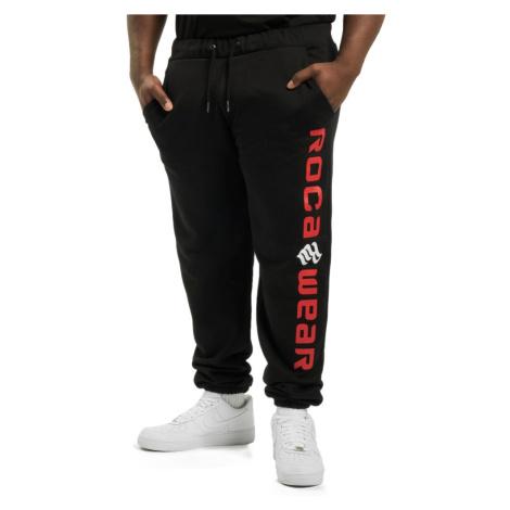 Rocawear kalhoty pánské Sweat Pant Big Basic Fleece in black tepláky