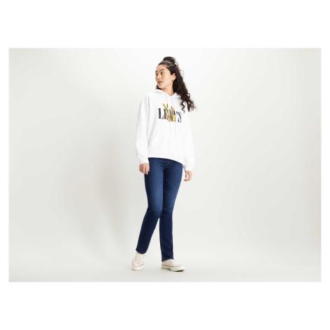 Levi´s® jeans 724 High Rise Straight Bogota dámské tmavě modré
