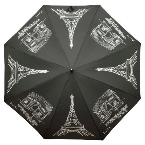 Elegantní vystřelovací dámský holový deštník Leena Doppler