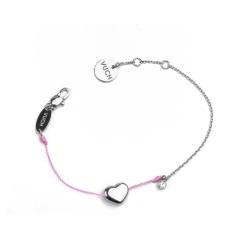 Vuch Shiny Heart Pink Bracelet