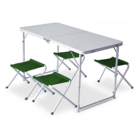 Set Pinguin Furniture (stůl + 4 židle) Barva: green