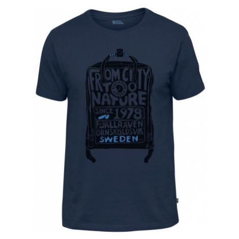 Fjällräven KANKEN T-SHIRT tmavě modrá - Pánské triko