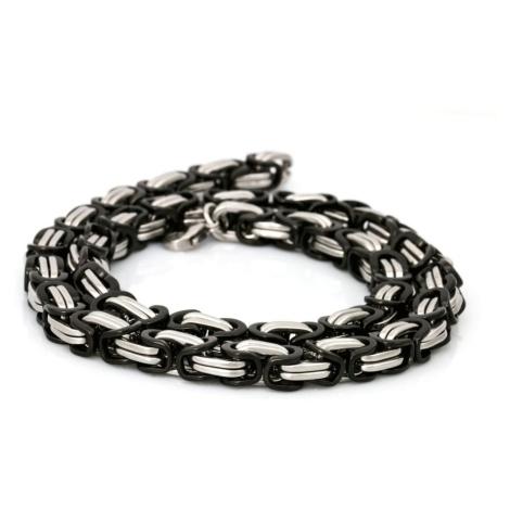 Sam's Artisans Pánský náhrdelník Black King chirurgická ocel INHM002