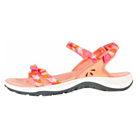 ALPINE PRO MAGNUSA Dámské sandály LBTR233328 peach pink