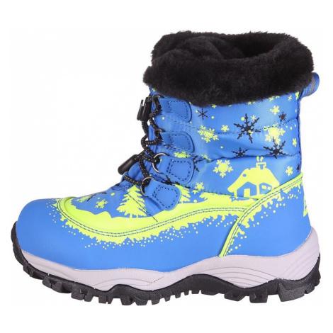 Dětské sněhule Alpine Pro SALEWIKO - modrá