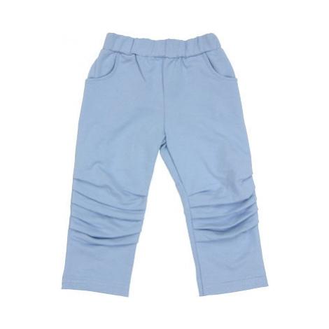 Mamatti Bavlněné tepláčky, kalhoty Boy - modré, vel.