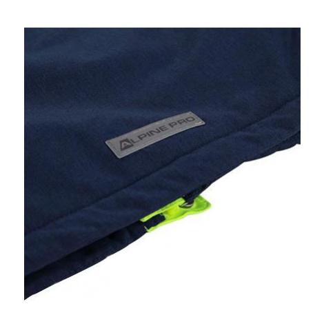 Dětská bunda Alpine Pro SARDARO 2 - reflexní žlutá