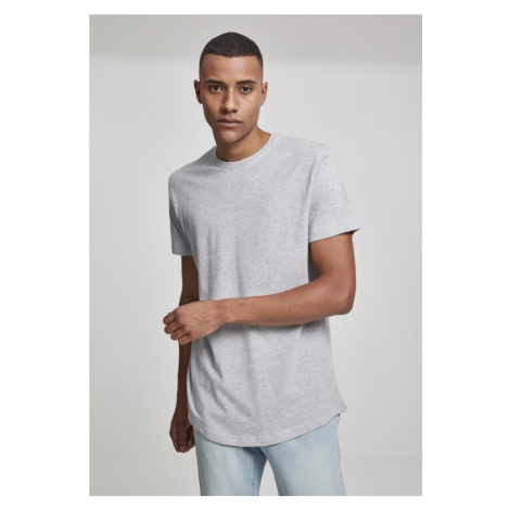 Shaped Long Tee - grey Urban Classics