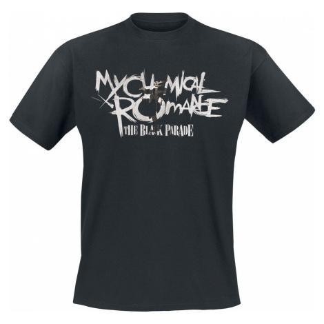 My Chemical Romance Type Fill Black Parade tricko černá