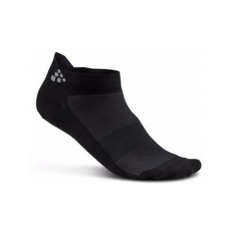 Ponožky CRAFT Shaftless 3-pack černá