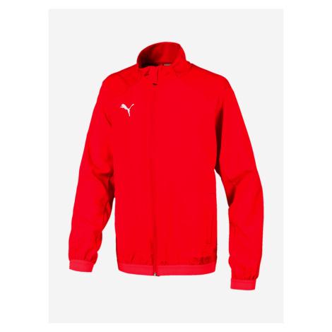 Bunda Puma Liga Sideline Jacket Jr Bílá