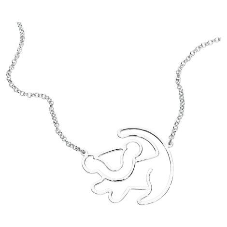 The Lion King Disney by Couture Kingdom - Simba Silhouette Náhrdelník - řetízek standard