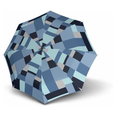 Modrý skladací automatický dámský deštník Alsea Doppler