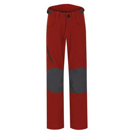 Husky Zony K, tm. cihlová Dětské outdoor kalhoty