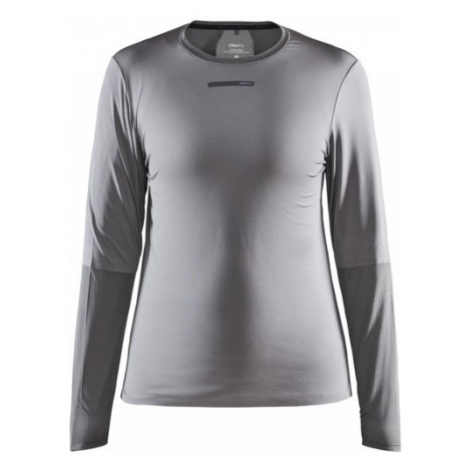 Dámské tričko CRAFT Vent Mesh LS šedá