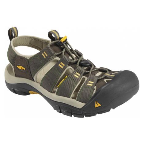 KEEN Newport H2 M Pánské sandály KEN1201062605 raven/aluminum
