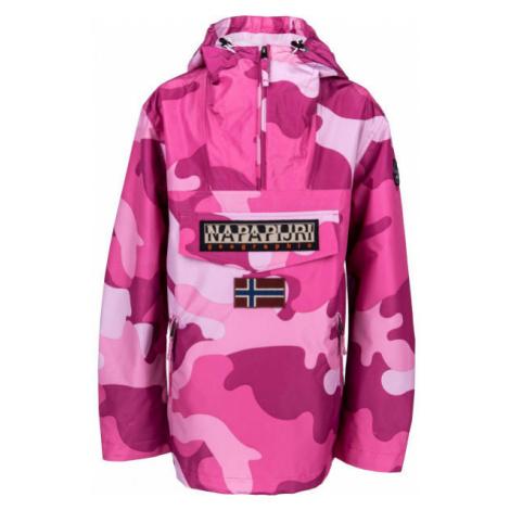 Napapijri RAINFOREST S W PRT 1 PINK CAMO růžová - Dámská bunda