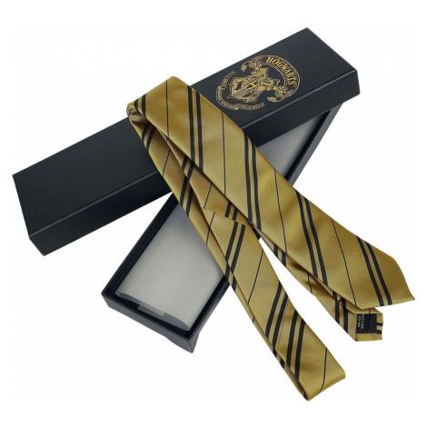 Harry Potter Hufflepuff kravata žlutá/cerná