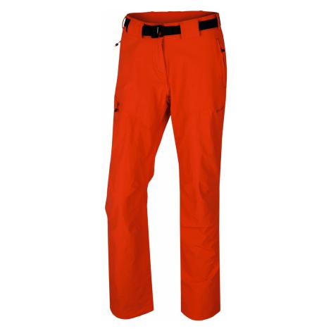 Husky Keiry L, výrazně červená Dámské sofshellové kalhoty