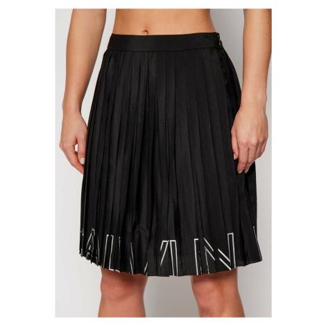 Calvin Klein dámská černá plisovaná sukně