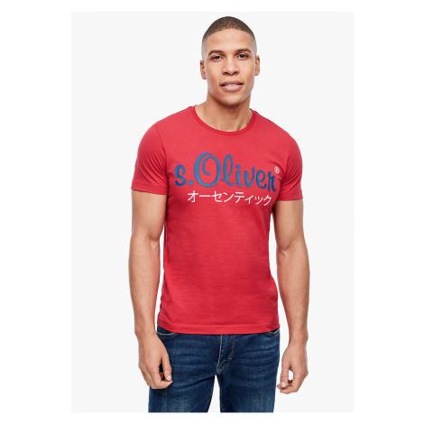 s.Oliver pánské triko s logem 13.002.32.4610/3250