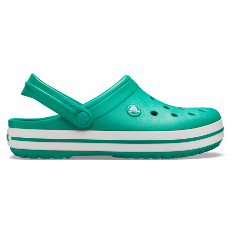 Crocs Crocband Deep Green/White
