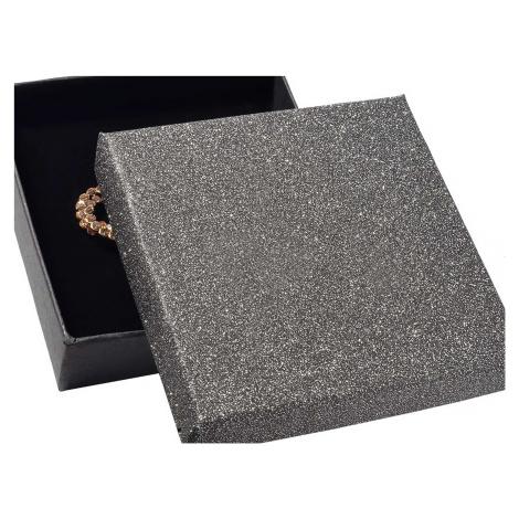 JKBOX Lesklá papírová krabička na střední sadu šperků IK002