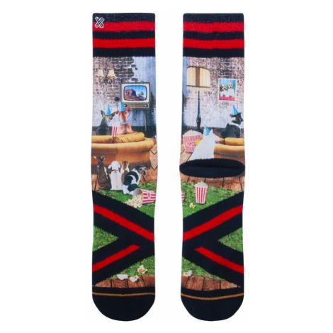 XPOOOS pánské ponožky 60209 - Vícebarevné